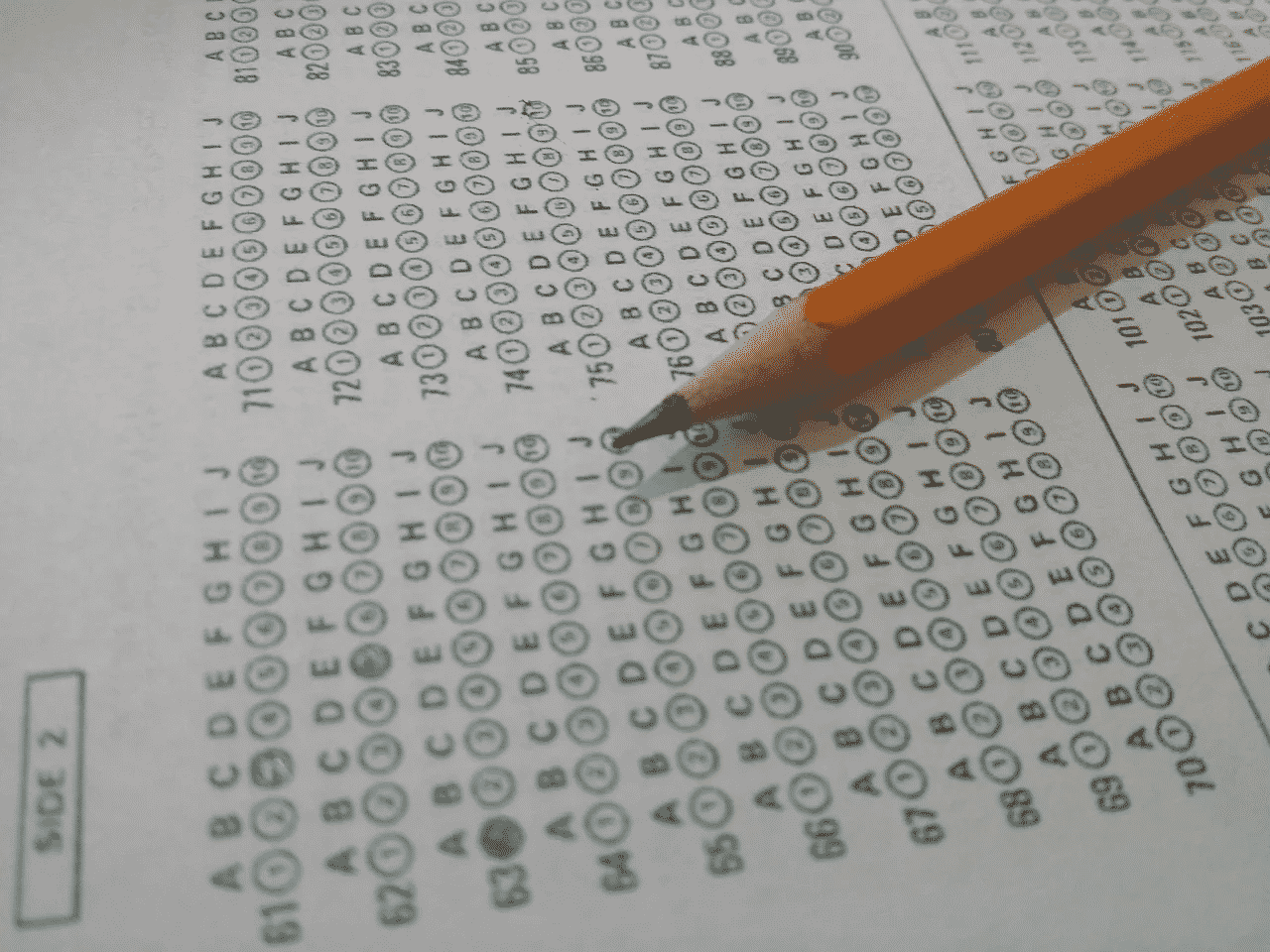 a test paper